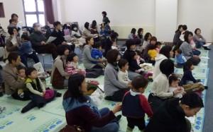 平日にもかかわらず、たくさんの方(大人40名、子ども36名)が参加してくれました